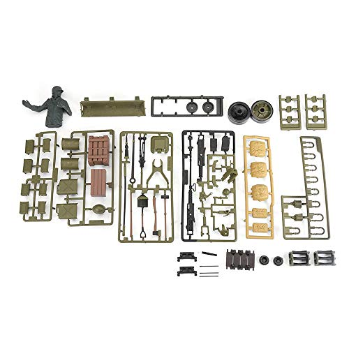 XCQ 1/16 USA Sherman M4A3 RC Tank 3898 Modell Kunststoffzubehör Teile Beutel dauerhaft 0317