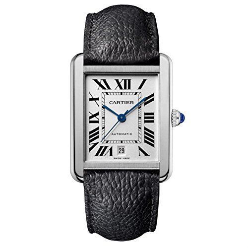 New Cartier Tank Solo XL Stainless Steel Automatic Watch WSTA0029