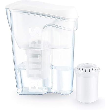 Multiple filtration in a single cartridge 2.5L ecosoft Water Filter Jug Luna