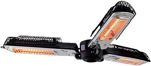 Faura - Calefactor Lámpara Eléctrica Triple