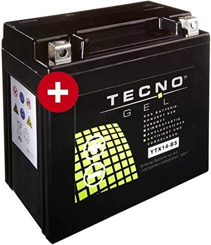 YTX14-BS TECNO GEL-Batterie für R 1200 GS Baujahr 2004-2012