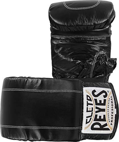 Cleto Reyes Boxhandschuhe aus Leder, Größe M, Schwarz