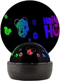 Disney Mickey Mouse Holiday Red, Blue, Green LED Rotating Shadow Projection Light