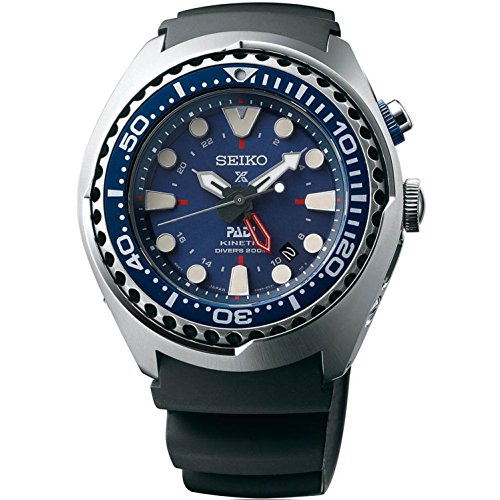 Seiko SUN065 Special Edition Padi Kinetic GMT...