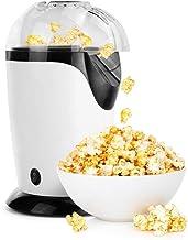 QYHSS Elektrische popcornmachine, hetelucht-olievrije popcornmachine zonder toon, voor het bekijken van films en feesten t...