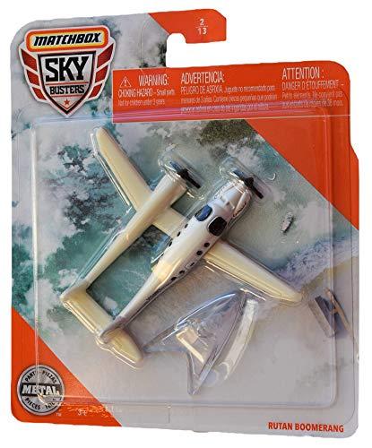 Matchbox Sky Busters Rutan Boomerang 2/13, White