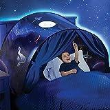 Magical World Tente de Jeu Lit Enfant Intérieur Rêve pour Fille Garçon Kid's Fantasy House (D)