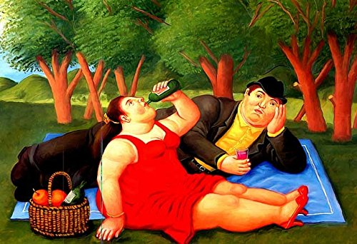 Botero 19 Poster cm 50x70 Affiche Plakat Fine Art Il Negozio di Alex