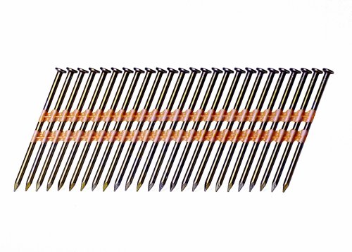 Grip-Rite GR024 Round Head 3-1/4-Inch-by-.131-Inch-by-21-Degree Plastic Collated Vinyl Coated Framing Nail (4,000 per Box)