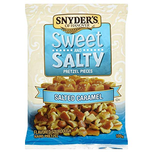 Snyders Pretzel Pieces Sweet & Salty 10 x 100g