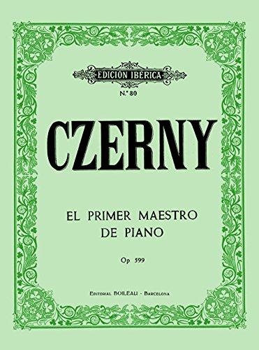 CZERNY - Op. 599 Primer Maestro para Piano (Iberica)