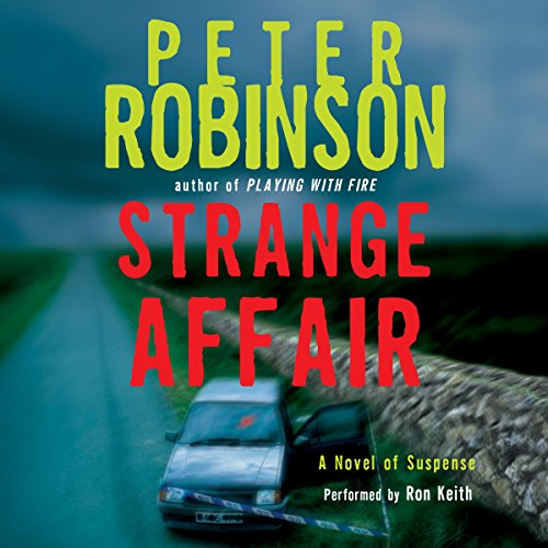 Strange Affair audiobook cover art