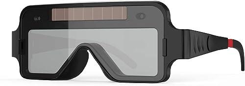 lowest YESWELDER True Color Solar Powered Auto Darkening high quality Welding wholesale Goggles, 2 Sensors Welder Glasses for TIG MIG MMA Plasma sale