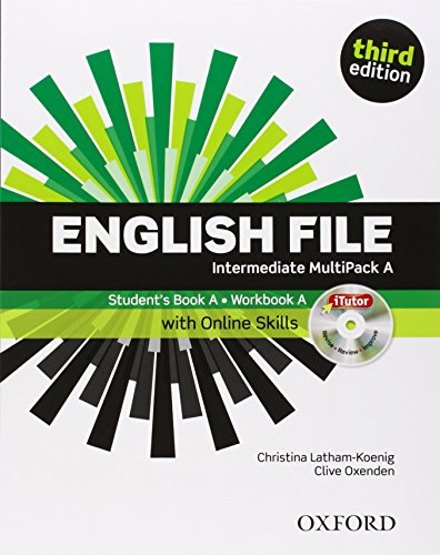 English File third edition: English file digital. Intermediate. Part A. Student's book-Workbook-iTutor-iChecker. With keys. Per le Scuole superiori. ... The best way to get your students talking