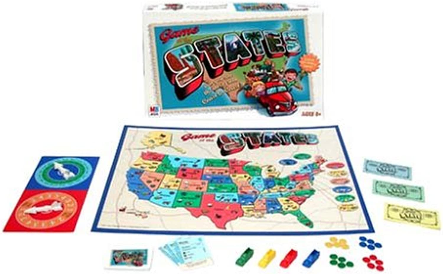 Game Of The States by Hasbro