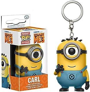 Minion funko pop keychain