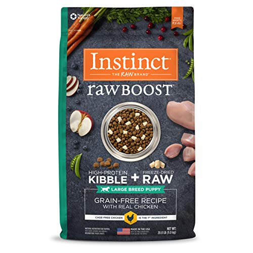 Instinct Raw Boost Large Breed Puppy Grain...
