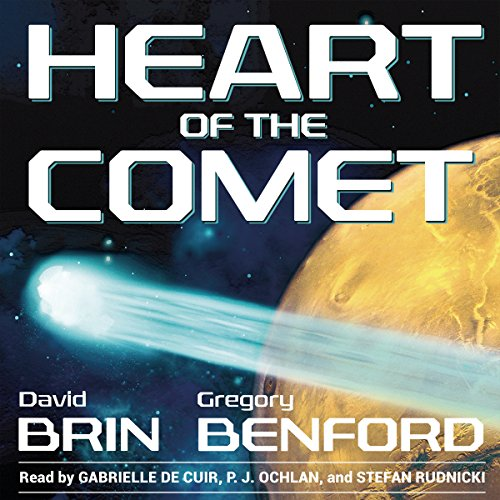 Heart of the Comet audiobook cover art