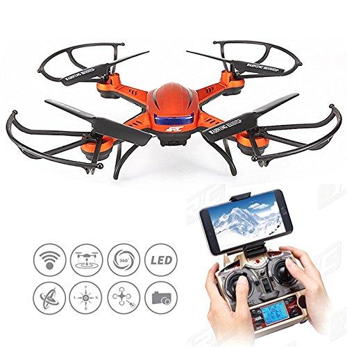 Kingtoys JJRC H12WH 2.4GHz 4CH WiFi Trasmissione in Tempo reale alta altitudine Drone RC Quadcopter - Camera in HD