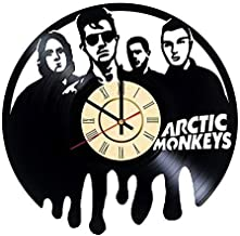 Arctic monkey design vinyl record wall clock for birthday wedding anniversary Valentine's day mother and woman ideas