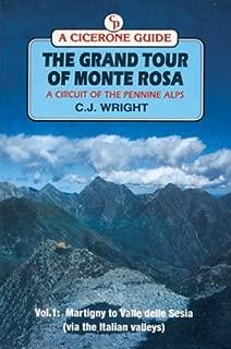 The Grand Tour of Monte Rosa: Martigny to Valle Della Sesia (Via the Italian Valleys) (Cicerone Guide) (Vol 1)