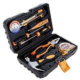 SSCYHT Juego de Herramientas para el hogar El Juego de Herramientas de reparación automática Kit de Herramientas hogar, la Oficina o el automóvil