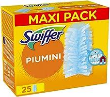 Swiffer Duster Ricambi per Piumino Catturapolvere 5 Pezzi, Catturano e Intrappolano Fino a 3 Volte Polvere e Peli...