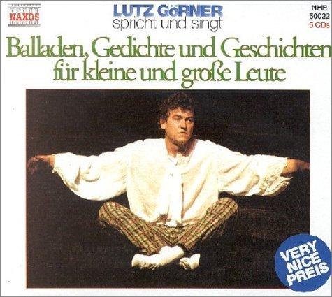 Balladen, Gedichte und Geschichten für kleine und große Leute. 5 CDs.