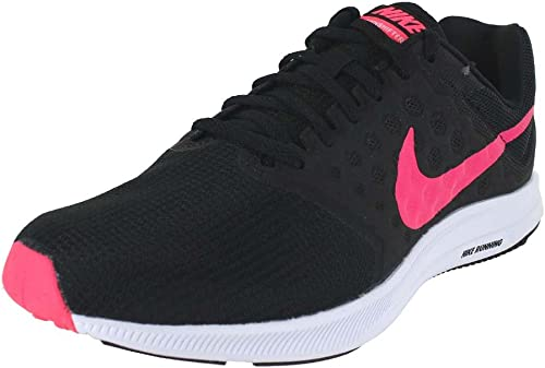 NIKE femmes WMNS Downshifter 7 noir Racer rose blanc Taille 5