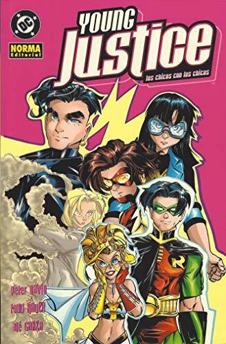 Young justice, Los chicos con las chicas