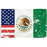 Bonsai Tree Mexico Flag 3x5 Ft, Double Sided and Double Stitched Mexican American Flags with Brass Grommets, Mexican Eagle Patriotic Country Garden Banners House Outdoor Decor