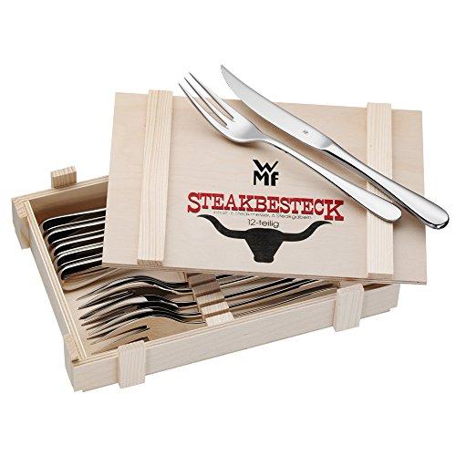 WMF Steakbesteck 12-teilig, Steakbesteck...