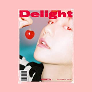 EXO Baekhyun 2nd Mini Album Delight Chemisty Version (Incl. Pre-Order Poster(Optional), One Random Baekhyun Transparent Photocard) (Pre-Order Poster (Folded))