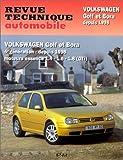 E.T.A.I - Revue Technique Automobile 618 - VOLKSWAGEN GOLF IV/BORA - 1J - 1998 à 2005
