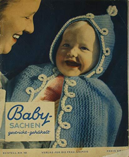 Baby-Sachen gestrickt-gehäkelt (Bestellnr. 708)