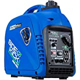 DuroMax XP2000EH Dual Fuel Inverter Generator, Blue