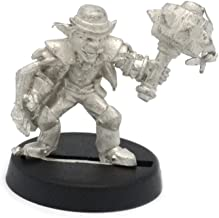 Stonehaven Gnome Brawler Miniature Figure (for 28mm Scale Table Top War Games) - Made in USA