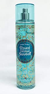 Bath and Body Works Holiday Traditions Frosted Coconut Snowball Body Mist. 8 Oz