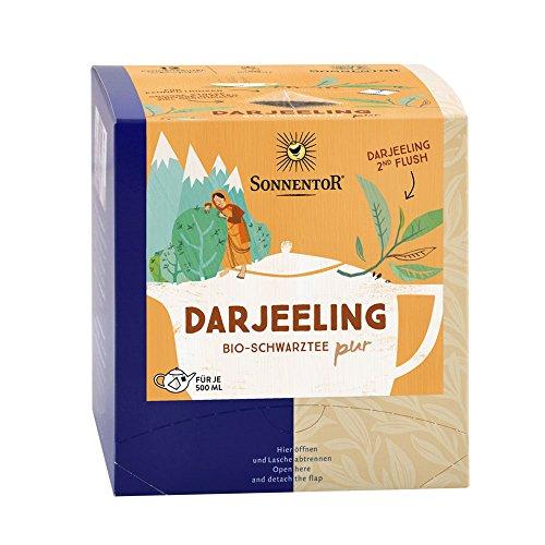 Sonnentor Bio Darjeeling Schwarztee Kannenbeutel 30g