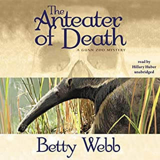 The Anteater of Death audiobook cover art
