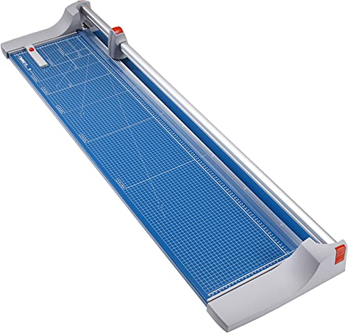 Dahle 448 Premium Rotary Trimmer, 51' Cut Length, 20 Sheet Capacity, Self-Sharpening, Automatic Clamp, German Engineered Paper Cutter
