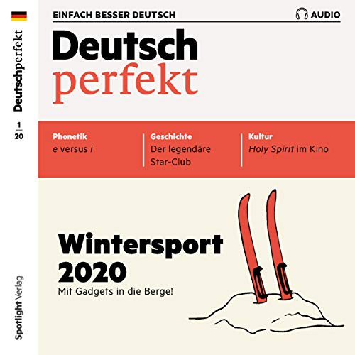 Couverture de Deutsch perfekt Audio 1/2020