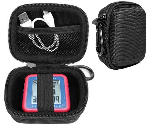 CaseSack Golf GPS Case for Bushnell Phontom Golf GPS, Neo Ghost Golf GPS, Garmin 010-01959-00 Approach G10, Other Handheld GPS, More Room for Cable and Others (Black)