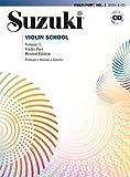 SUZUKI - Escuela 1º para Violin (Edicion Revisada) (Ed.Española) (Inc.CD)