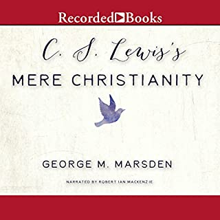 C. S. Lewis's Mere Christianity audiobook cover art