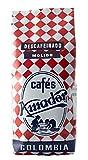 Cafés AMADOR - Café DESCAFEINADO MOLIDO FINO Natural Arábica - COLOMBIA (Molienda para Cafetera Italiana / Espresso) (2x250g) 500g