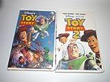 TOY STORY & TOY STORY 2 VHS MOVIE LOT