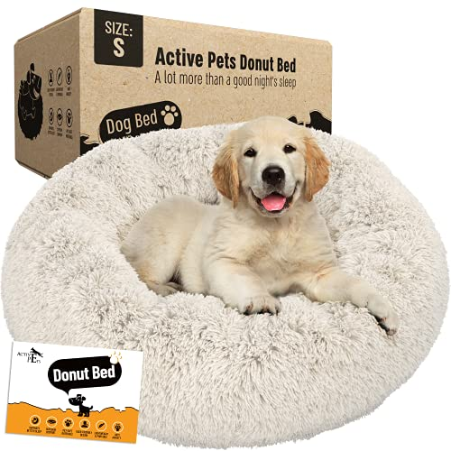 Anti Anxiety Plush Calming Dog Bed by Active Pets
