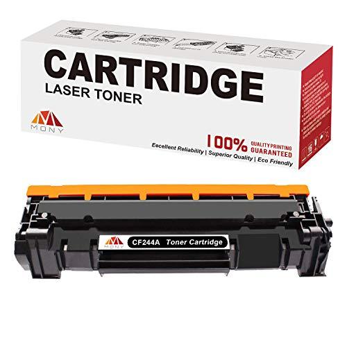 Mony Kompatibel Toner Patrone für HP CF244A 44A (1 Schwarz) für HP Laserjet Pro M15w M15a, Laserjet Pro MFP M28a M28w Laserdrucker