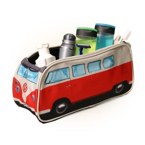 Volkswagen Kulturtasche VW Bus Bulli T1 in rot